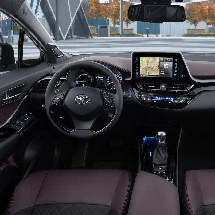Toyota C-HR hybrid (Automat)