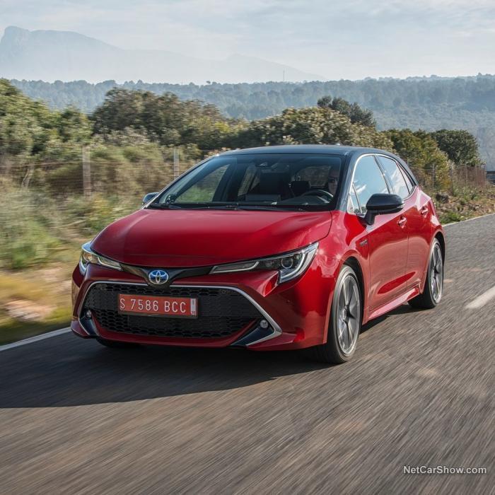Toyota Corolla hybrid (Automat)